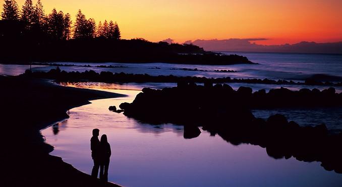 Bargara Australia  City new picture : Bargara Beach @ Bundaberg. Grew up swimming here. Fond memories..