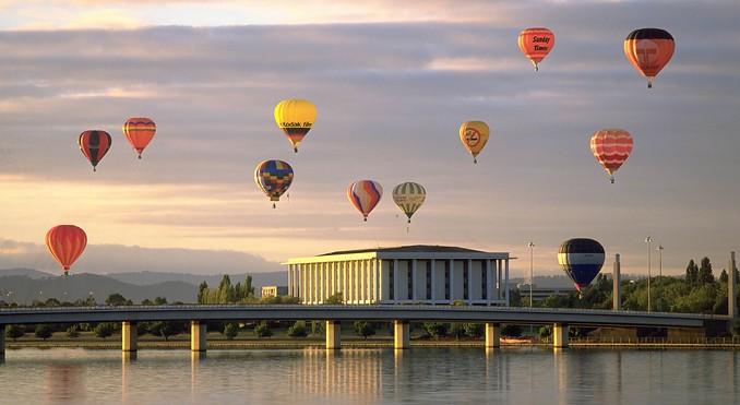 Image courtesy of ACT Tourism