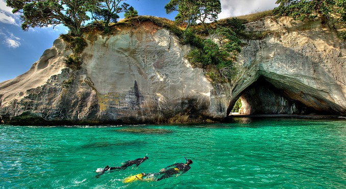Hahei and Cathedral Cove